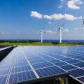 太陽光と風力発電の再生エネルギー